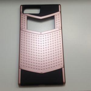 "Case for iphone 7/8 plus 5.5"" goldrose-black new"